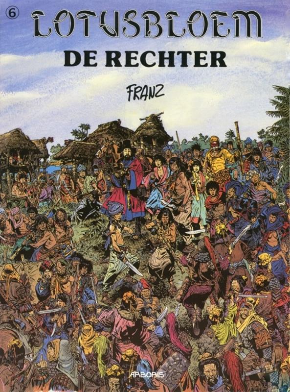 LOTUSBLOEM 06. DE RECHTER LOTUSBLOEM, FRANZ, FRANZ, Paperback
