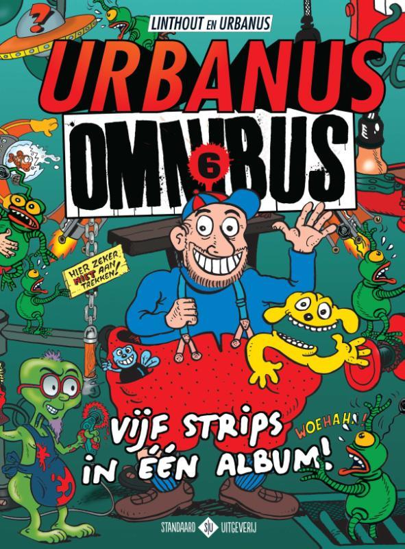 Omnibus 5 strips in één album, Linthout, Willy, Paperback