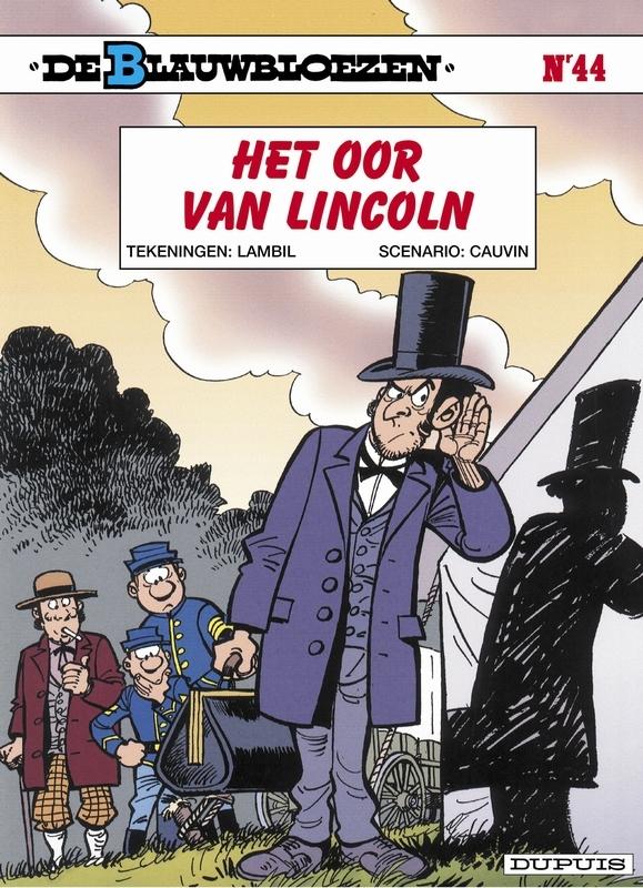BLAUWBLOEZEN 44. HET OOR VAN LINCOLN BLAUWBLOEZEN, Cauvin, Raoul, Paperback