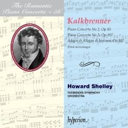 ROMANTIC PIANO CONCERTO.. TASMANIAN S.O./HOWARD SHELLEY F. KALKBRENNER, CD