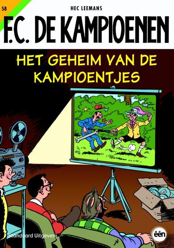 Het geheim van de kampioentjes F.C. De Kampioenen, LEEMANS, HEC, Paperback