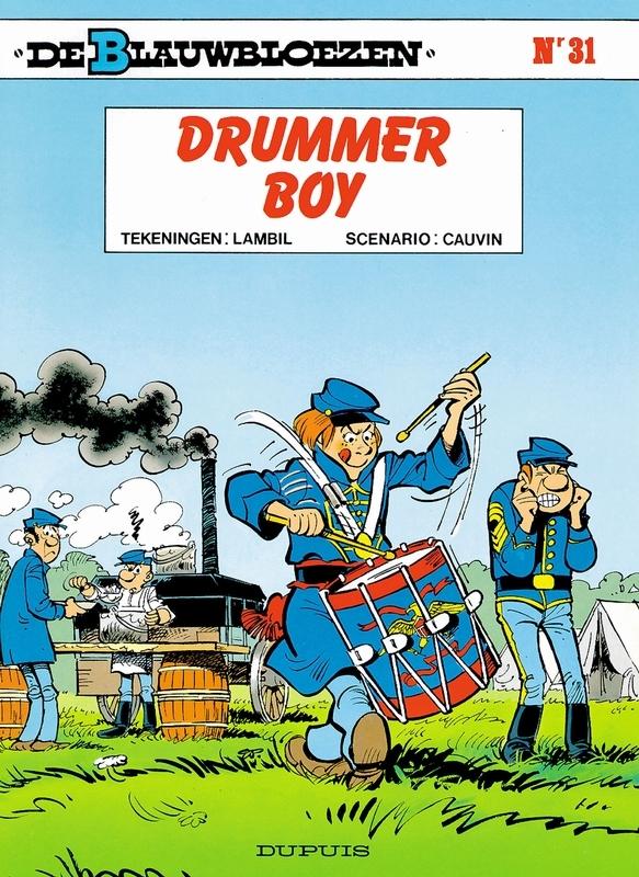 BLAUWBLOEZEN 31. DRUMMER BOY BLAUWBLOEZEN, LAMBIL, WILLY, CAUVIN, RAOUL, Paperback