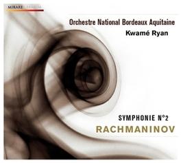 SYMPHONIE NO.2 ORCHESTRE NATIONAL DE BORDEAUX//RYAN, K. Audio CD, S. RACHMANINOV, CD