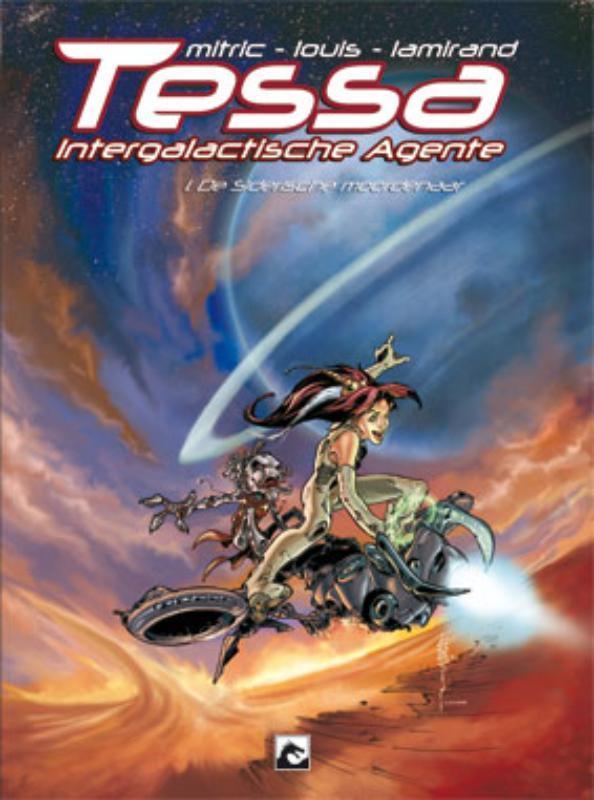 De Siderische moordenaar Tessa, intergalactische agente, Nicolas Mitric, Hardcover