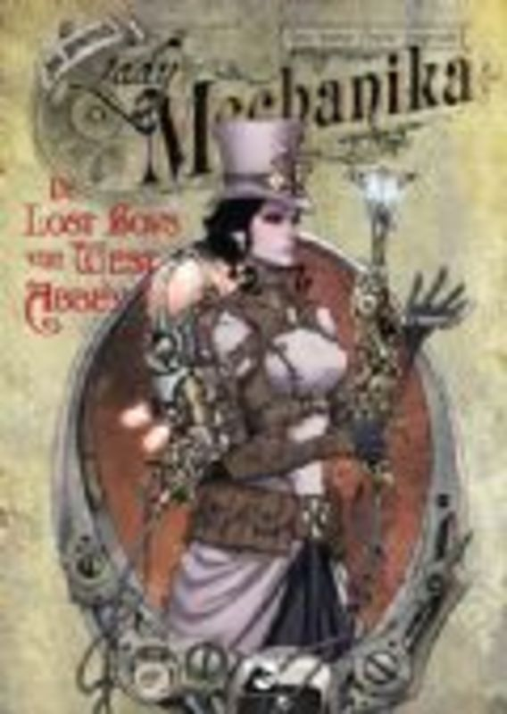 LADY MECHANIKA 07. De lost boys van West Abbey (M.M. Chen, BENITEZ, JOE) 56 p.Paperback LADY MECHANIKA, Chen, M.M., BKST