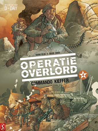 Operatie Overlord 4 Commando Kieffer SC (Bruno Falba, David Fabbri, Paperback