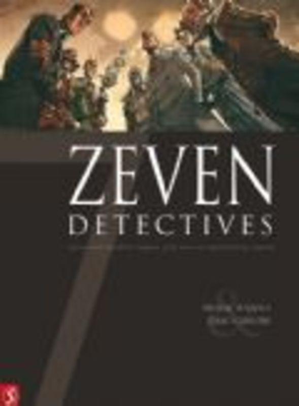 ZEVEN HC11. ZEVEN DETECTIVES 11/14 (Eric Canete, Herik Hanna) 64 p., Hardcover ZEVEN, Hanna, Herik, BKST