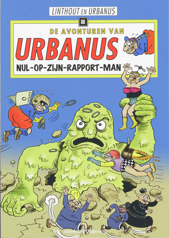 Nul-op-zijn-rapport-man URBANUS, LINTHOUT, WILLY, Paperback