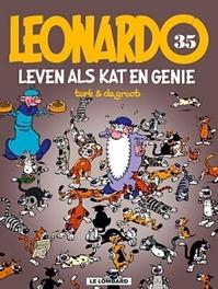 LEONARDO 35. LEVEN ALS KAT EN GENIE LEONARDO, TURK, GROOT, Paperback