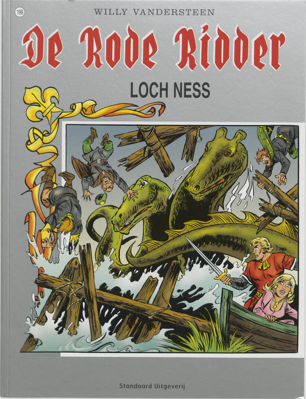 Loch Ness De Rode Ridder, Vandersteen, Willy, Paperback