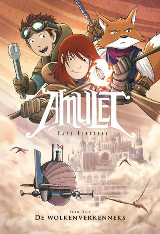 De wolkenverkenners Amulet, Kibuishi, Kazu, Hardcover