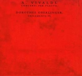 CONCERTI PER FLAUTO ENSEMBLE ORNAMENTE 99 Audio CD, A. VIVALDI, CD