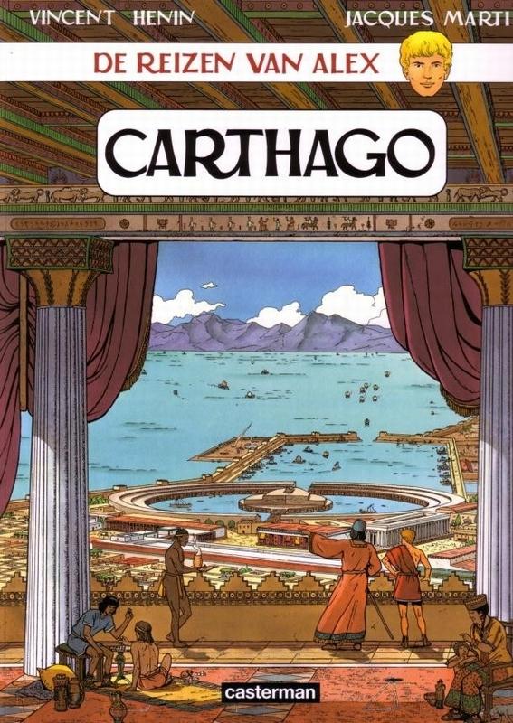 ALEX, DE REIZEN VAN 18. CARTHAGO CARTHAGO, Martin, Jacques, Paperback