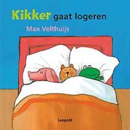 Kikker gaat logeren Max Velthuijs, Hardcover