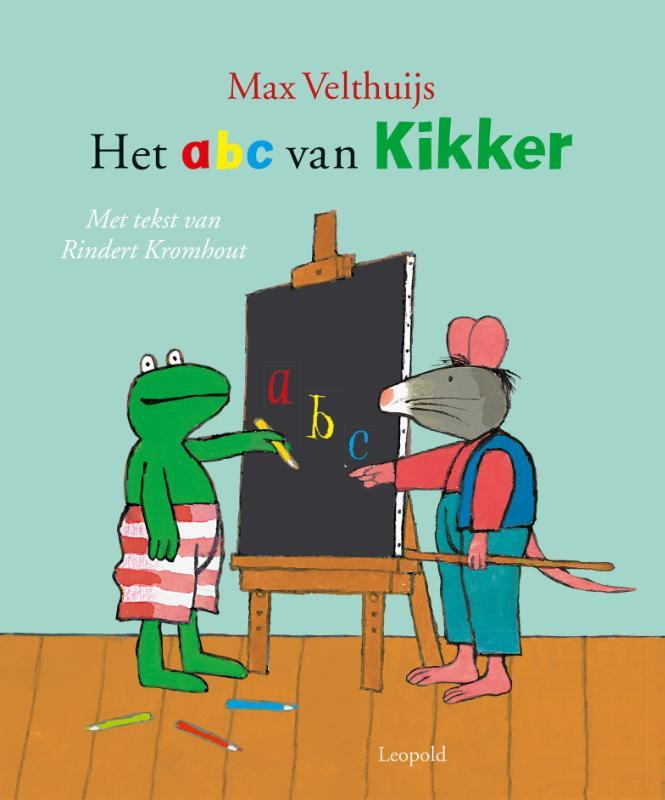 Het abc van Kikker Rindert Kromhout, Hardcover
