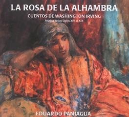 LA ROSA DE LA ALHAMBRA MUSICA ANTIGUA Audio CD, EDUARDO PANIAGUA, CD