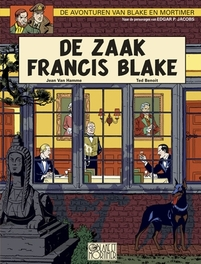 BLAKE EN MORTIMER 13. DE ZAAK FRANCIS BLAKE BLAKE EN MORTIMER, JACOBS, EDGAR PIERRE, Paperback