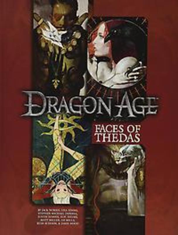Faces of Thedas A Dragon Age RPG Sourcebook, Jack Norris, Paperback