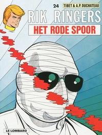 RIK RINGERS 24. HET RODE SPOOR RIK RINGERS, TIBET, Paperback
