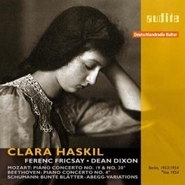 KLAVIERKONZERTE/BUNTE BLA CLARA HASKIL Audio CD, MOZART/SCHUMANN/BEETHOVEN, CD