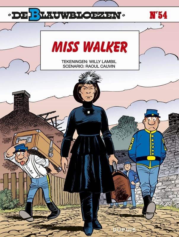 BLAUWBLOEZEN 54. MISS WALKER BLAUWBLOEZEN, LAMBIL, WILLY, CAUVIN, RAOUL, Paperback