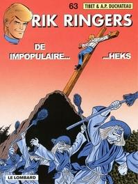 RIK RINGERS 63. DE IMPOPULAIRE HEKS RIK RINGERS, TIBET, Paperback