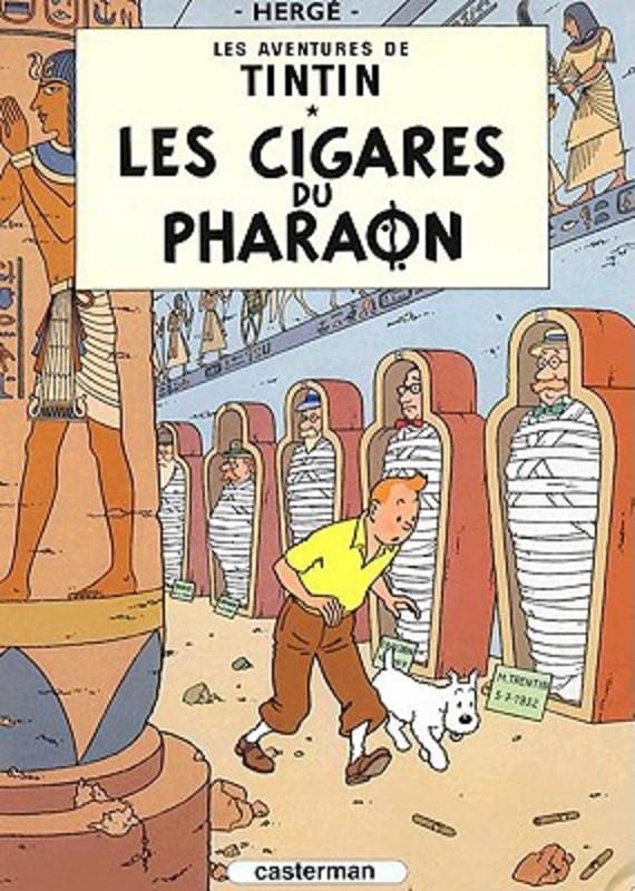 Les Aventures de Tintin 04. Les cigares du pharaon TINTIN, Herge, Hardcover
