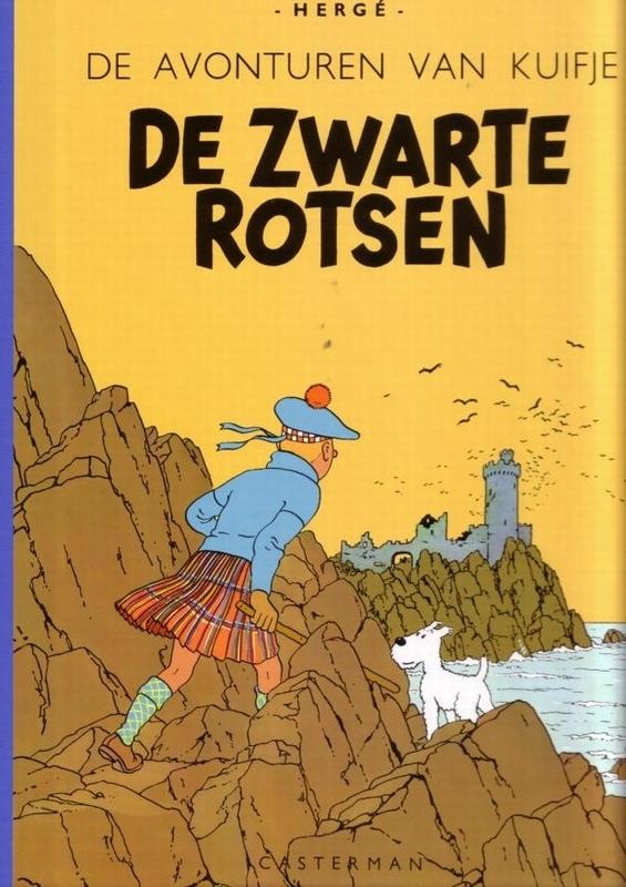 KUIFJE FACSIMILE KLEUR HC07. DE ZWARTE ROTSEN KUIFJE FACSIMILE KLEUR, Hergé, Hardcover