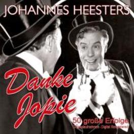 DANKE JOPIE 50 GROSSE ERFOLGE JOHANNES HEESTERS, CD