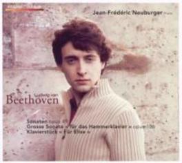 BEETHOVEN:.. -CD+DVD- .. PIANO SONATAS 19, 20 & 29 (+DVD) DVD, ENUBURGER, JEAN-FREDERIC, CD