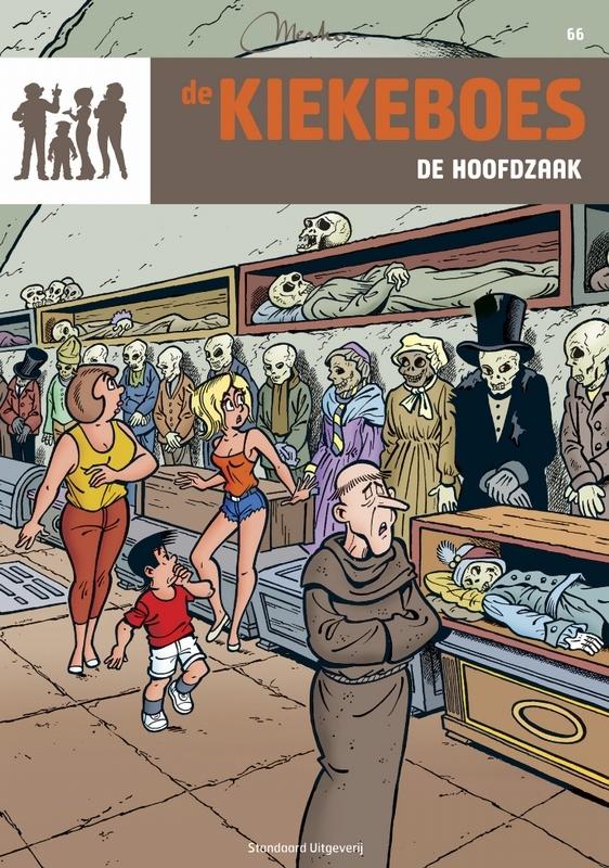 KIEKEBOES DE 066. DE HOOFDZAAK De Kiekeboes, MERHO, Paperback