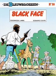 BLAUWBLOEZEN 20. BLACK FACE BLAUWBLOEZEN, Cauvin, Raoul, Paperback