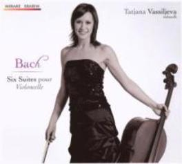 SIX SUITES POUR.. .. VIOLONCELLE//VASSILIEVA, TATJANA Audio CD, J.S. BACH, CD