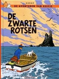 KUIFJE 07. DE ZWARTE ROTSEN KUIFJE, Hergé, Paperback