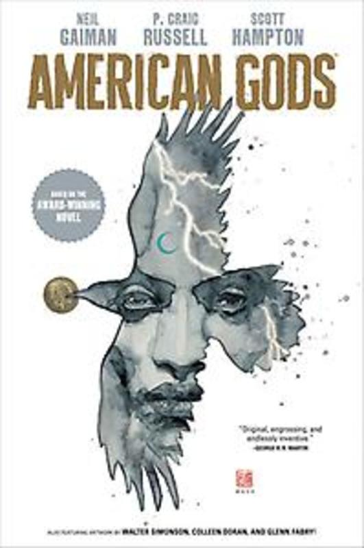 American Gods 1 Shadows, Neil Gaiman, Hardcover