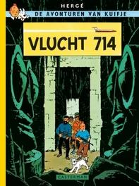 KUIFJE FACSIMILE KLEUR HC22. VLUCHT 714 Vlucht 714, Hergé, Hardcover