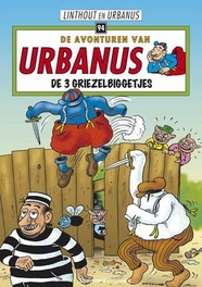 URBANUS 094. DE 3 GRIEZELBIGGETJES Urbanus, Linthout, Willy, Hardcover