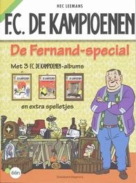 FC De Kampioenen DeFernand Special met 3 FC. De kampioenen-albums en extra spelletjes, Leemans, Hec, Paperback