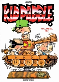 KID PADDLE 04. FULL METAL PET KID PADDLE, MIDAM, Paperback