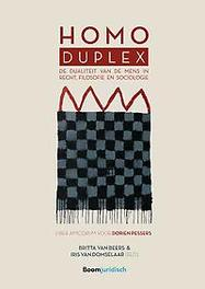 Homo duplex. de dualiteit van de mens in recht, filosofie en sociologie, Paperback