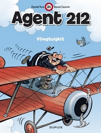AGENT 212 21. VLIEGTUIGKIT AGENT 212, Cauvin, Raoul, Paperback