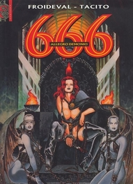 666 02. ALLEGRO DEMONIO 666, TACITO,FRANCK, MARCELA-FROIDEVAL, FRANCOIS, Paperback