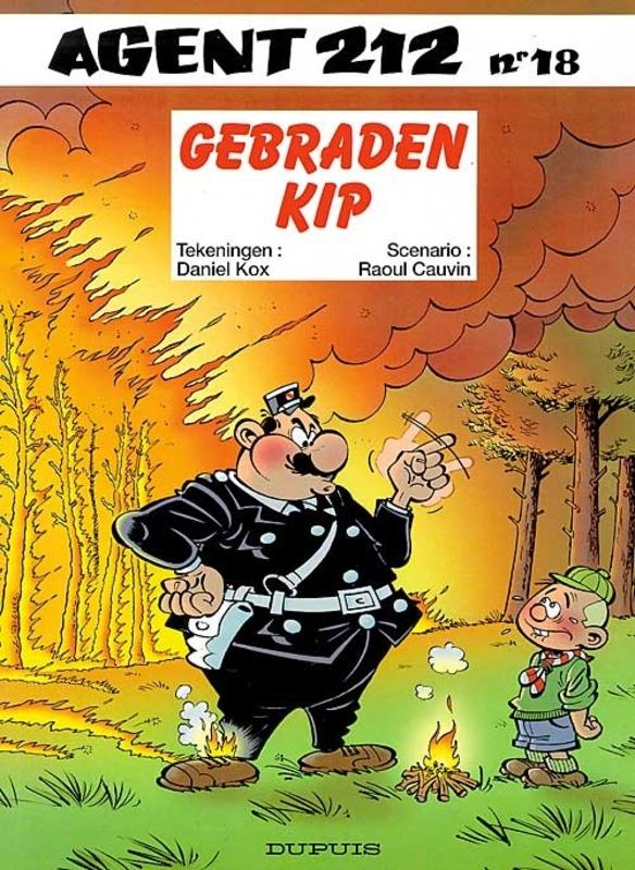 AGENT 212 18. GEBRADEN KIP AGENT 212, KOX, DANIËL, CAUVIN, RAOUL, Paperback