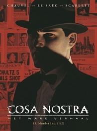 COSA NOSTRA HC13. MURDER INC. 1/2 COSA NOSTRA, Erwan, Le Saëc, Hardcover