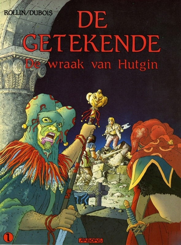 GETEKENDE 01. DE WRAAK VAN HUTGIN GETEKENDE, ROLLIN, DUBOIS, Paperback