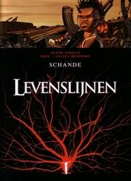 LEVENSLIJNEN HC06. EER EN ONEER (3C) Schande (3c), Kris, Hardcover