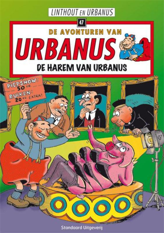 De harem van Urbanus URBANUS, Willy Linthout, Paperback