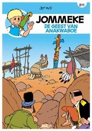 De geest van Anakwaboe JOMMEKE STRIP, Nys, Jef, Paperback