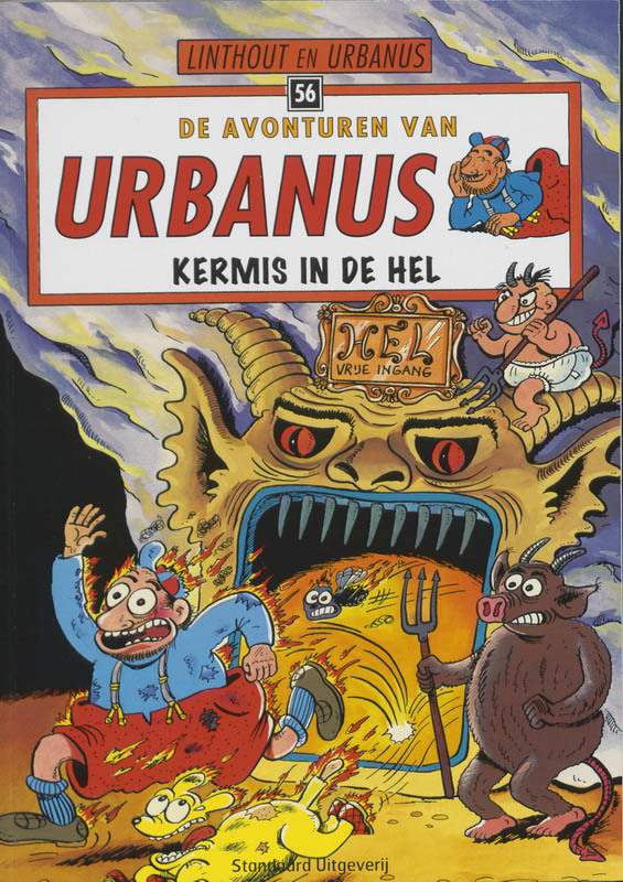 URBANUS 056. KERMIS IN DE HEL De avonturen van Urbanus, Urbanus, Paperback