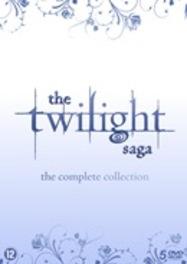 Twilight saga - Complete collection, (DVD) Meyer, Stephenie, DVDNL
